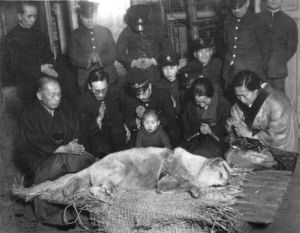 Hachiko_funeral